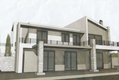 109m² ημιτελής οικία με άδεια στα Γιαννιτσάνικα