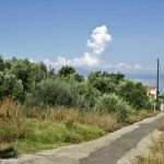 1400m² plot 50 meters from the beach at Mikri Mantineia