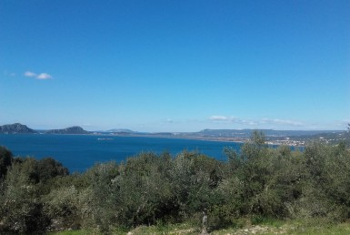 Wonderful land for sale with gorgeous views over Navarino bay