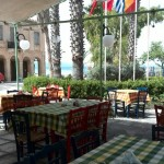 Seafront restaurant business for sale with fixed clientele in Koroni